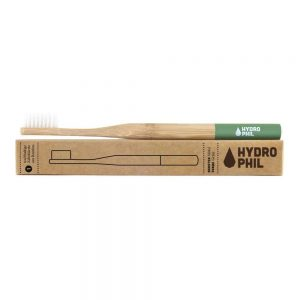 Hydrophil Bamboo Toothbrush Green – Medium