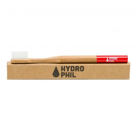 Hydrophil Bamboo Toothbrush Red