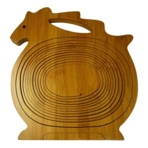 Bamboo Horse shaped Fruit Basket