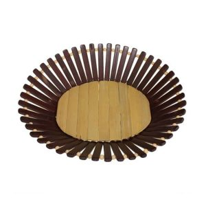 Oval Bamboo Basket Medium