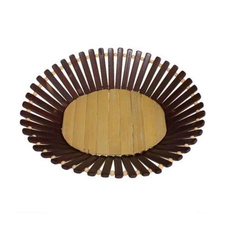 Oval Bamboo Basket Medium