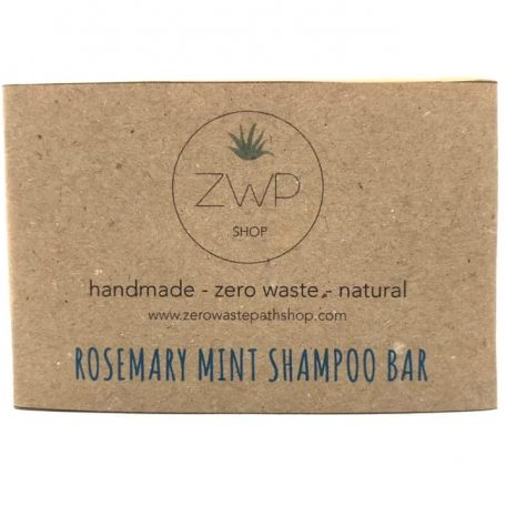Handmade Rosemary Mint Shampoo Bar