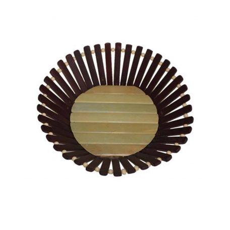 Bamboo Basket Small Round