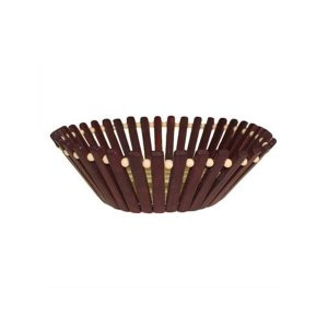 Round Bamboo Basket – Small