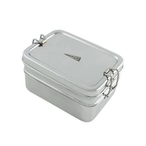 Two Tier Stainless Steel Lunchbox