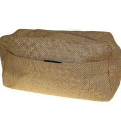 Jute Toiletry Bag Natural