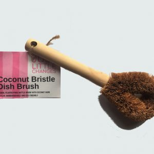 Coconut Bristle Dish Brush