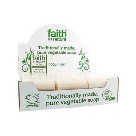 Faith In Nature Tea Tree Soap Unwrapped
