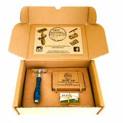 Plastic Free Shaving Kit – Blue Ocean
