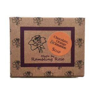Chocolate Orange & Cinnamon Soap Bar