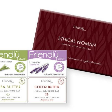 Friendly Soap Ethical Woman Gift Set