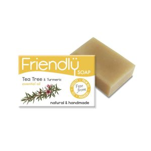 Friendly Soap Tea Tree And Tumeric