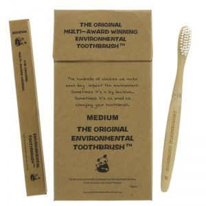Environmental Bamboo Toothbrush – Medium