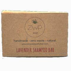 Handmade Lavender Shampoo Bar Zero Waste