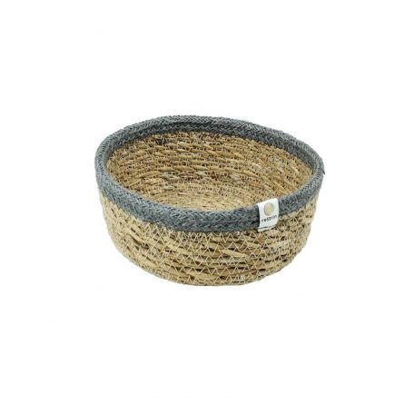 Shallow Seagrass & Jute Basket