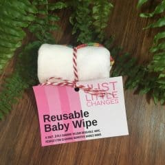 Reusable Baby Wipes