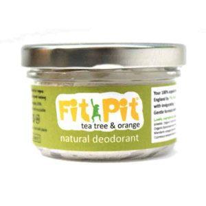 Fit Pit Tea Tree And Orange Deodorant