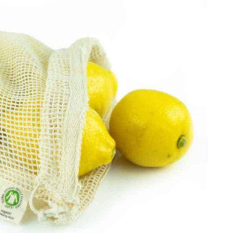 Organic Mesh Cotton Produce Bag