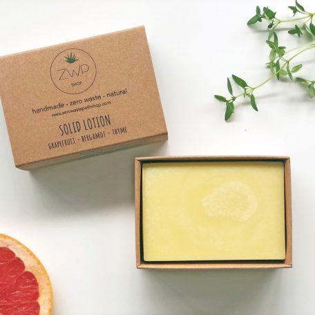 Citrus Solid Lotion