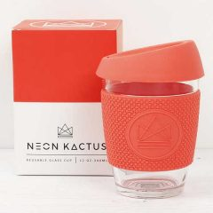 Neon Kactus Glass Cup