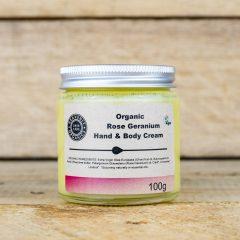 Organic Hand And Body Cream