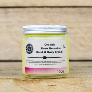 Organic Hand And Body Cream