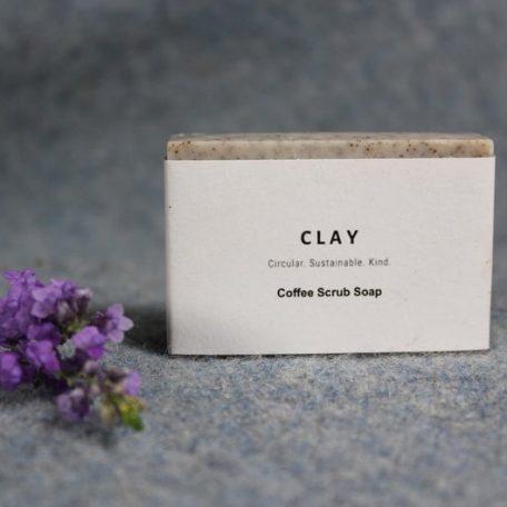 Coffee Scrub Clay Soap
