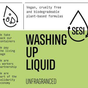 Washing Up Liquid – Unfragranced