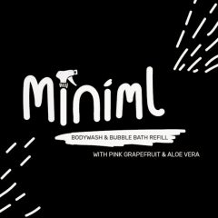 Miniml Body Wash – Pink Grapefruit & Aloe Vera