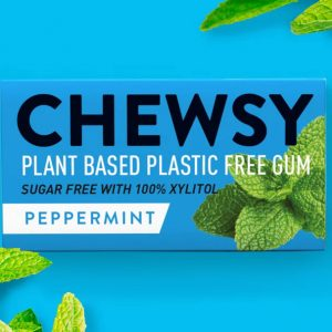 Chewsy Chewing Gum – Peppermint