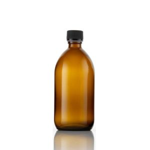 Amber Glass Bottle