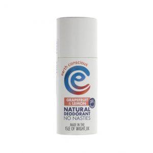 Earth Conscious Natural Deodorant - Grapefruit