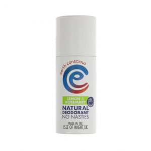 Earth Conscious Natural Deodorant - Lemon & Rosemary