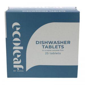 Ecoleaf Dishwasher Tablets x 25 tabs