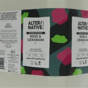 Alter/native By Suma Conditioner- Rose & Geranium